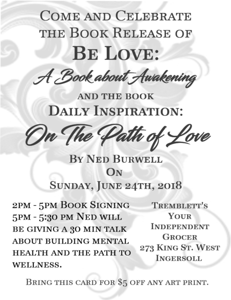 be love book release